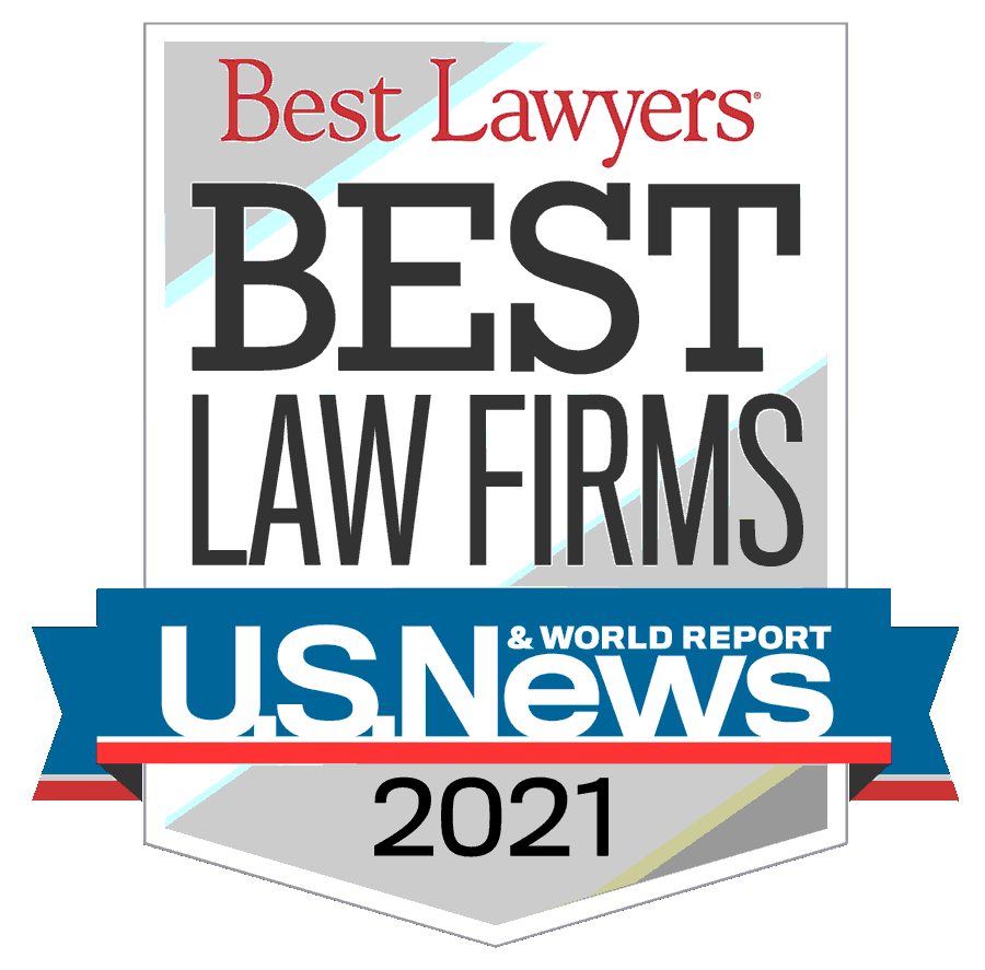 2021 Best Lawyers Badge U.S. News and World Reports